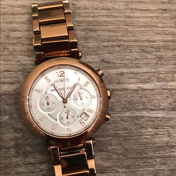 Michael Kors Accessories - Michael Kors Rose Gold watch